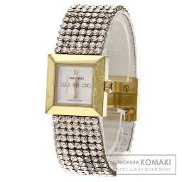 SWAROVSKI【スワロフスキー】 1124135 腕時計 ステンレス/革 レディース