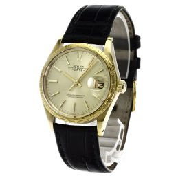 ROLEX【ロレックス】 腕時計 K18イエローゴールド/アリゲーター/アリゲーター メンズ