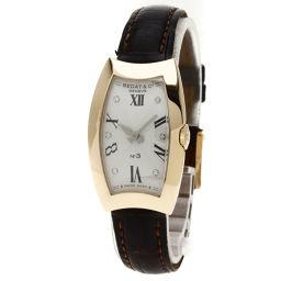 BEDAT&Co【ベダ&カンパニー】 Ref.384 腕時計 K18ピンクゴールド/アリゲーター/アリゲーター レディース