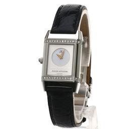 JAEGER-LECOULTRE【ジャガー・ルクルト】 266.8.44 腕時計 ステンレス/クロコダイル/クロコダイル レディース