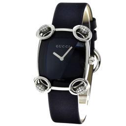 GUCCI【グッチ】 YA117.5 腕時計 ステンレス/革/革 レディース