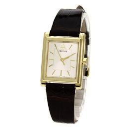SEIKO【セイコー】 4J81-0AL0 GTAS014 腕時計 K18イエローゴールド/革/革 レディース