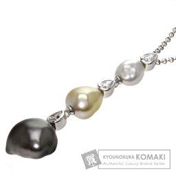 MIKIMOTO【ミキモト】 ネックレス K18ホワイトゴールド レディース