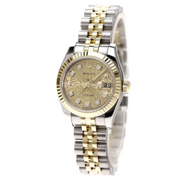 ROLEX【ロレックス】 179173G 7705 腕時計 K18イエローゴールド/SS/SS レディース