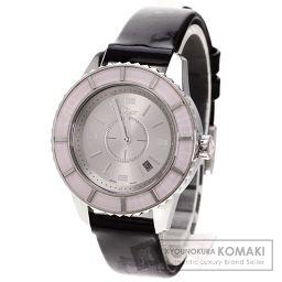 Christian Dior【クリスチャンディオール】 CD113114 腕時計 ステンレス/革 レディース