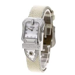FENDI【フェンディ】 3800L 腕時計 ステンレス/エイ革/エイ革ダイヤモンド レディース