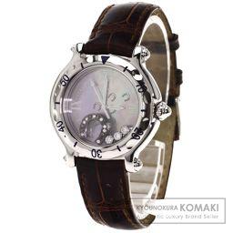 Chopard【ショパール】 7753 腕時計 ステンレス/クロコダイル レディース