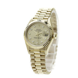 ROLEX【ロレックス】 69178G 7705 腕時計 K18イエローゴールド/K18YG/K18YG レディース