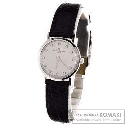 Baume & Mercier【ボーム&メルシェ】 腕時計 K18ホワイトゴールド/革/クロコダイル レディース