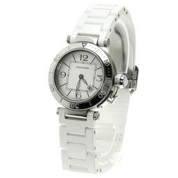 CARTIER【カルティエ】 W3140002 腕時計 ステンレス/ラバー/ラバー レディース