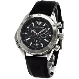Emporio Armani【エンポリオ・アルマーニ】 腕時計 ステンレス/ラバー メンズ