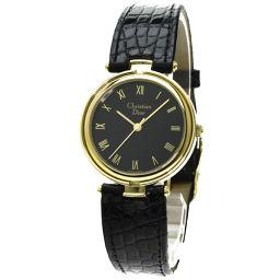 Christian Dior【クリスチャンディオール】 腕時計 GP/アリゲーター/アリゲーター レディース