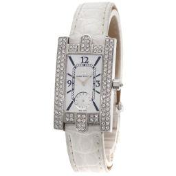 HARRY WINSTON【ハリーウィンストン】 310LQW 腕時計 K18ホワイトゴールド/アリゲーター/アリゲーター レディース