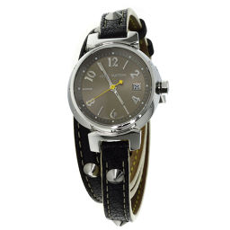 LOUIS VUITTON【ルイ・ヴィトン】 Q1212 腕時計 SS/革/革 レディース