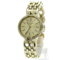 Christian Dior【クリスチャンディオール】 D94-160 腕時計 K18イエローゴールド レディース