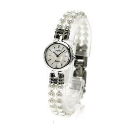 TECHNOS【テクノス】 腕時計 ステンレス/パール/パール レディース