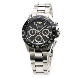 TECHNOS【テクノス】 腕時計 ステンレススチール メンズ