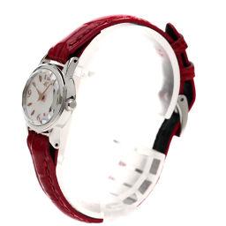 4℃【ヨンドシー】 腕時計 ステンレス/革/革 レディース