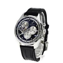 ZENITH【ゼニス】 03.2042.4061/21.C496 腕時計 ステンレス/革/革 メンズ