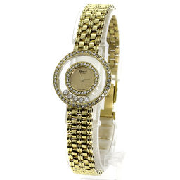 Chopard【ショパール】 腕時計 K18イエローゴールド レディース