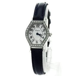 LONGINES【ロンジン】 L5.184.0 腕時計 ステンレス/革/革 レディース