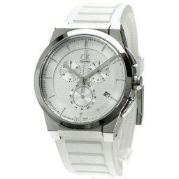 CALVIN KLEIN【カルバンクライン】 腕時計 ステンレス/ラバー/ラバー メンズ