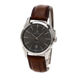 HAMILTON【ハミルトン】 H424151 腕時計 ステンレス/革/革 メンズ
