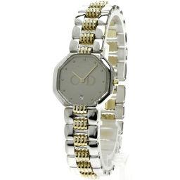Christian Dior【クリスチャンディオール】 腕時計 GP/SS/SS レディース