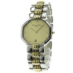 Christian Dior【クリスチャンディオール】 腕時計 ステンレス/GP/GP メンズ