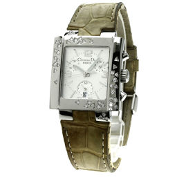Christian Dior【クリスチャンディオール】 D81-101 腕時計 ステンレス/革/革 レディース