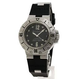 BVLGARI【ブルガリ】 SD42SVD 7719 腕時計 ステンレススチール/ラバー/ラバー メンズ