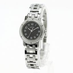 HERMES【エルメス】 CL4.210 7601 腕時計 ステンレス/SS/SS レディース