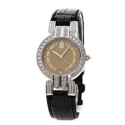 HARRY WINSTON【ハリーウィンストン】 腕時計 K18ホワイトゴールド/アリゲーター/アリゲーター レディース