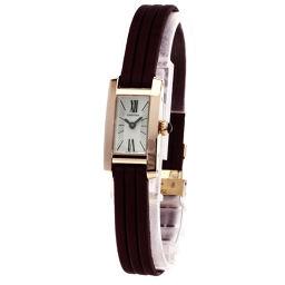 CARTIER【カルティエ】 W1537338 腕時計 K18ピンクゴールド/サテン/サテン レディース