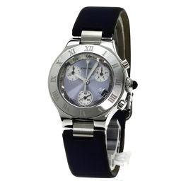 CARTIER【カルティエ】 W1020013 腕時計 ステンレス/サテン/サテン レディース