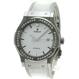 HUBLOT【ウブロ】 542.NE.2010.LR.1204 腕時計 チタン/アリゲーターグミ/アリゲーターグミ メンズ