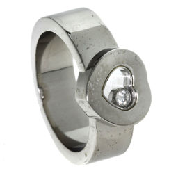 Chopard【ショパール】 リング・指輪 K18ホワイトゴールド レディース