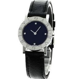 BVLGARI【ブルガリ】 BB26SL 腕時計 ステンレス/革/革 レディース