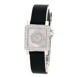 Chopard【ショパール】 13/5951 腕時計 K18ホワイトゴールド/サテン/サテンダイヤモンド レディース