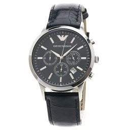 Emporio Armani【エンポリオ・アルマーニ】 腕時計 SS/革/革 メンズ
