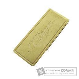 Dupont【デュポン】 ロゴ刻印 マネークリップ 金属製 メンズ