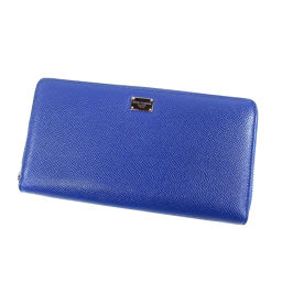 D&G【ディーアンドジー】 長財布(小銭入れあり) レザー レディース