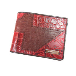 ETRO【エトロ】 二つ折り財布(小銭入れなし) レザー レディース