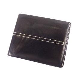 TOD'S【トッズ】 二つ折り財布(小銭入れなし) レザー メンズ