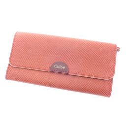 Chloe【クロエ】 長財布(小銭入れあり) レザー レディース