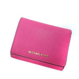 Michael Kors【マイケルコース】 二つ折り財布(小銭入れあり) レザー レディース