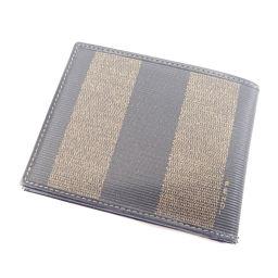 FENDI【フェンディ】 二つ折り財布(小銭入れなし) PVC レディース