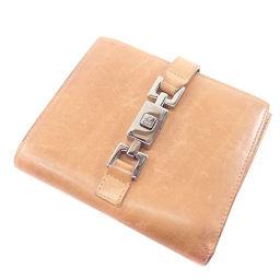 GUCCI【グッチ】 二つ折り財布(小銭入れあり) レザー レディース