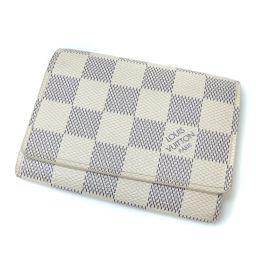 LOUIS VUITTON【ルイ・ヴィトン】 N61746 カードケース ダミエキャンバス レディース