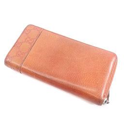 GUCCI【グッチ】 長財布(小銭入れあり) レザー レディース